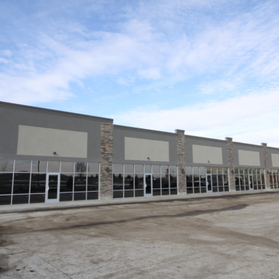 new construction glass, glass company des moines, glazing des moines, storefront, commercial doors strip mall